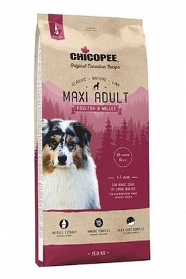 Chicopee CNL Maxi Adult Poultry & Millet